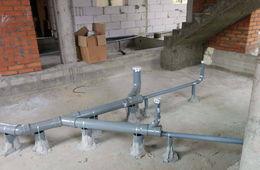 Монтаж канализации в коттедже под ключ Кубинка
