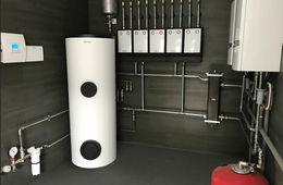 Монтаж системы отопления в частном доме Кубинка