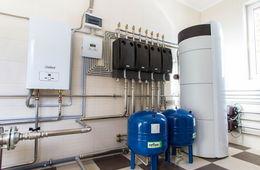 Монтаж системы отопления в коттедже Кубинка