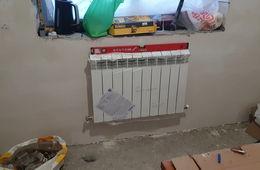 Монтаж радиатора отопления в частном доме Кубинка