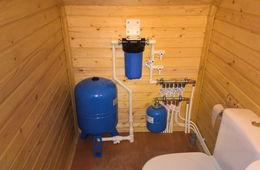 Монтаж водоснабжения в частном доме Кубинка