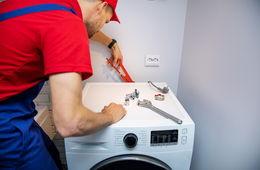 Подключение стиральной машины к коммуникациям Кубинка