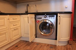 Установка встраиваемой стиральной машины Кубинка