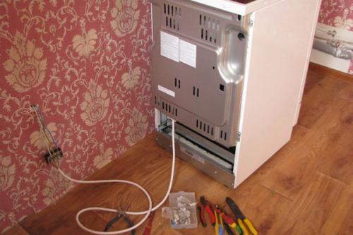 Установка электроплиты в Кубинке