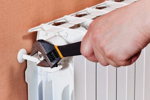 Установка радиатора отопления в Кубинке