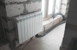 Замена радиаторов отопления в квартире Кубинка
